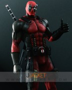 deadpool game leather jacket