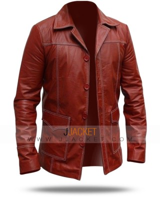 Fight Club Leather Coat
