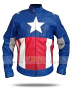 Chris Evans Captain America Leather Jacket