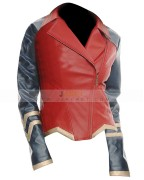 Wonder Woman Jacket Biker Style
